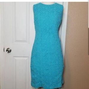 Teal NWOT Talbots Dress Sz 14